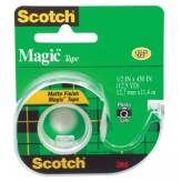 Taśma biurowa SCOTCH® Magic™ (104) matowa z dyspenserem 13mmx11, 4m